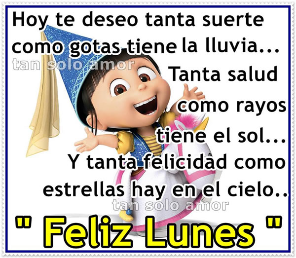 Lunes chistosas del frases