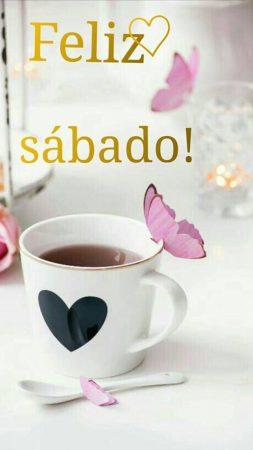feliz sabado frases cafe